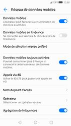 Huawei P10 - Internet et connexion - Désactiver la connexion Internet - Étape 5