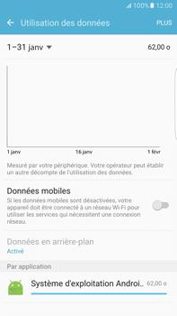Samsung Samsung G928 Galaxy S6 Edge + (Android M) - Internet - Désactiver les données mobiles - Étape 6