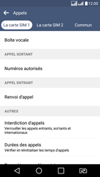 LG K8 - Messagerie vocale - configuration manuelle - Étape 6