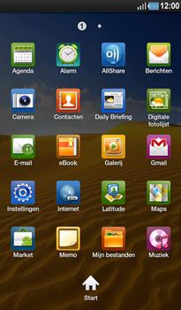 Samsung P1000 Galaxy Tab - Internet - Internetten - Stap 2