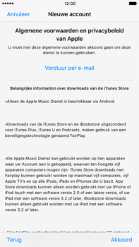 Apple Apple iPhone 6 Plus iOS 10 - Applicaties - Account instellen - Stap 10