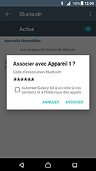 Sony Xperia X - Android Nougat - WiFi et Bluetooth - Jumeler votre téléphone avec un accessoire bluetooth - Étape 7