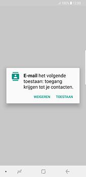 Samsung Galaxy S8 - Android Oreo - E-mail - e-mail instellen: IMAP (aanbevolen) - Stap 5