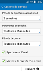 Samsung G357 Galaxy Ace 4 - E-mail - Configuration manuelle - Étape 17