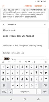 Samsung Galaxy Note 8 - E-mail - Envoi d