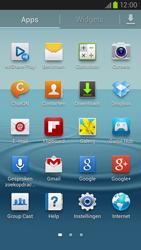 Samsung I9305 Galaxy S III LTE - WiFi - Verbinden met een netwerk - Stap 3