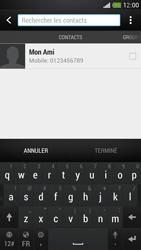 HTC One Mini - MMS - envoi d'images - Étape 4