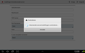 Samsung P5100 Galaxy Tab 2 10-1 - E-mail - Handmatig instellen - Stap 11