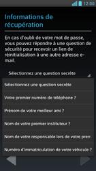 LG Optimus F6 - Premiers pas - Créer un compte - Étape 15