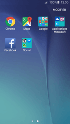 Samsung G920F Galaxy S6 - E-mail - Configuration manuelle (gmail) - Étape 3