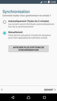 Sony F3211 Xperia XA Ultra - E-mail - Configuration manuelle - Étape 20