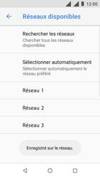 Nokia 1 - Réseau - Sélection manuelle du réseau - Étape 13