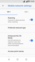 Nokia 1 - Internet - Disable data roaming - Step 7