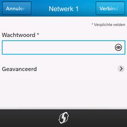 BlackBerry Q10 - Wifi - handmatig instellen - Stap 8