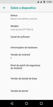Motorola Moto G6 Plus - Primeiros passos - Como encontrar o número de IMEI do seu aparelho - Etapa 6