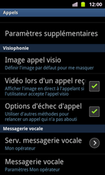 Samsung I8160 Galaxy Ace II - Messagerie vocale - configuration manuelle - Étape 6