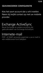 Nokia Lumia 920 LTE - E-mail - e-mail instellen: IMAP (aanbevolen) - Stap 8
