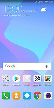 Huawei Y6 (2018) - Internet no telemóvel - Como ativar os dados móveis -  1