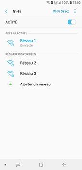 Samsung Galaxy J6 - Internet et connexion - Accéder au réseau Wi-Fi - Étape 9