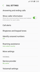 Samsung G930 Galaxy S7 - Android Nougat - Voicemail - Manual configuration - Step 6