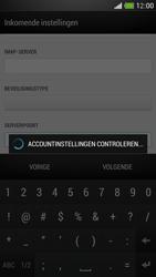 HTC One Mini - E-mail - Account instellen (IMAP met SMTP-verificatie) - Stap 12