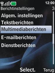 Nokia 6600i slide - MMS - Automatisch instellen - Stap 8