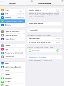 Apple iPad 4th generation iOS 7 - Internet - configuration manuelle - Étape 5