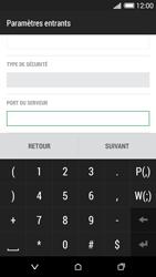 HTC Desire 620 - E-mail - Configuration manuelle - Étape 12