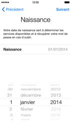 Apple iPhone 5c (iOS 8) - Premiers pas - Créer un compte - Étape 14