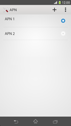 Sony D5503 Xperia Z1 Compact - Internet - configuration manuelle - Étape 18