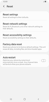 Samsung galaxy-s9-plus-android-pie - Device - Factory reset - Step 7