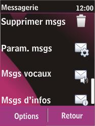 Nokia C2-03 - SMS - Configuration manuelle - Étape 4
