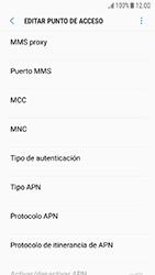 Samsung Galaxy J5 (2017) - Mensajería - Configurar el equipo para mensajes multimedia - Paso 12