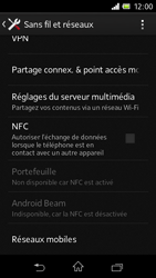 Sony C1905 Xperia M - MMS - Configuration manuelle - Étape 5