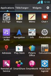 LG E610 Optimus L5 - Wifi - configuration manuelle - Étape 2