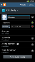 Samsung Galaxy S4 Mini - Contact, Appels, SMS/MMS - Ajouter un contact - Étape 11