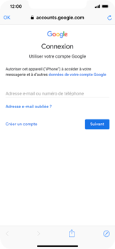 Apple iPhone XR - E-mail - Configuration manuelle (gmail) - Étape 6