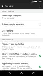 HTC One (M8) - Sécuriser votre mobile - Activer le code de verrouillage - Étape 5