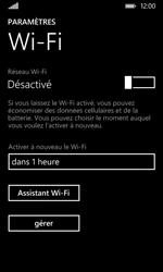 Nokia Lumia 530 - Wifi - configuration manuelle - Étape 4