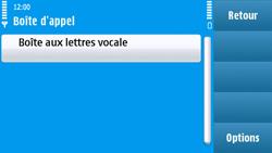 Nokia N97 - Messagerie vocale - configuration manuelle - Étape 7