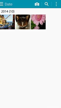 Samsung Galaxy Note 4 - Photos, vidéos, musique - Envoyer une photo via Bluetooth - Étape 4