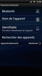 Sony Ericsson Xperia Neo V - Bluetooth - connexion Bluetooth - Étape 9