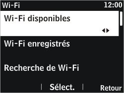 Nokia Asha 302 - Wifi - configuration manuelle - Étape 5