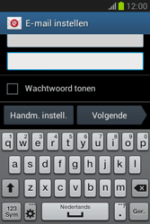 Samsung S6790 Galaxy Fame Lite - E-mail - e-mail instellen: POP3 - Stap 6