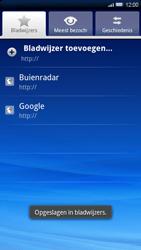 Sony Ericsson Xperia X10 - Internet - Hoe te internetten - Stap 10
