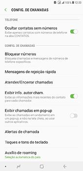 Samsung Galaxy J8 - Chamadas - Como bloquear chamadas de um número específico - Etapa 6