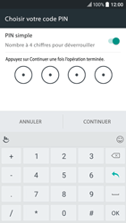 HTC 10 - Sécuriser votre mobile - Activer le code de verrouillage - Étape 9