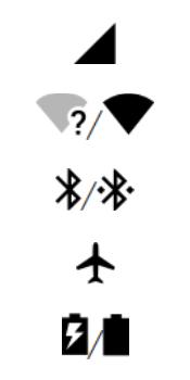 Motorola Moto G6 Plus - Funções básicas - Explicação dos ícones - Etapa 2