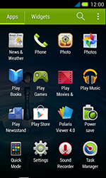 Acer Liquid Z4 - Internet - Enable or disable - Step 3
