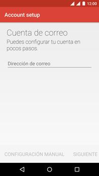 Motorola Moto X Play - E-mail - Configurar correo electrónico - Paso 10
